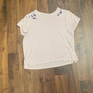 Aeropostale seriously soft mauve crop top